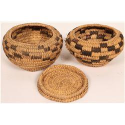 Two Tohono O'dham Baskets  (120834)