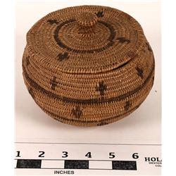 Paiute-Shoshone Basket from Emporium Co.  (124648)