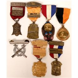 Shooting Badges Rifle NRA etc. Collection (7)  (119328)