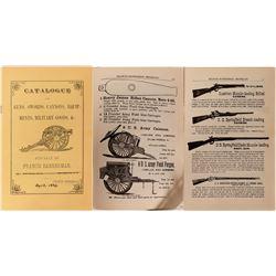 Francis Bannerman Guns, Swords, Cannons, Equipments, Military Goods Catalogue  (110688)
