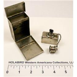 WW1 to WW2 M.D. Alcohol Burner Needle Sterilizer   (125596)
