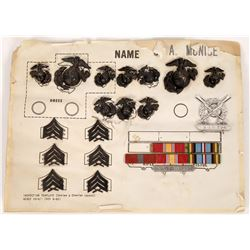 Marine Corps  Insignia Collection  (125536)