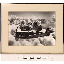 World War 2 Era Aircraft Photographs, Lot of Six, One Signed  (125864)