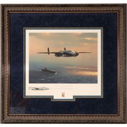 """""""I Could Never Be This Lucky Again"""" a signed print by artist William S. Phillips  (108568)"""