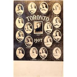 Toronto Maple Leafs Baseball Team Postcard  (125951)