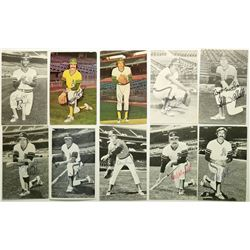 Oakland A's Autographed Photo Post Cards  (114937)