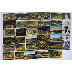 Baseball Parks & Player Postcards  (125942)