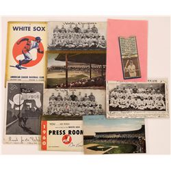 Early 20th Century Chi Sox Postcards  (126481)