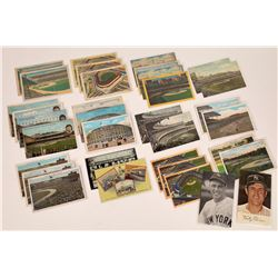 New York Baseball Themed Postcards  (125946)