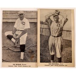 Two RPC's of Cincinnati Reds' World Champions over Black Sox  (126480)