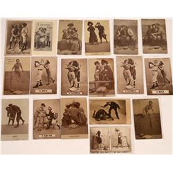 Bawdy Baseball Postcards  (125703)