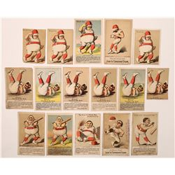 Humorous Baseball Advertising Cards  (125838)
