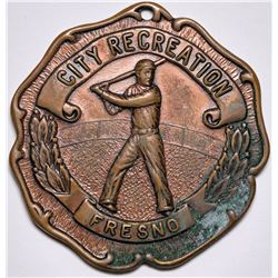 City League Baseball Championship Medal  (116528)