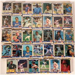 Fleer Baseball Cards from 1984  (109890)