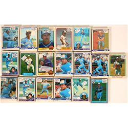 Fleer Blue Jays Baseball Cards from the 1984 season  (110393)
