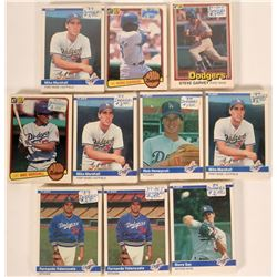 Fleer Dodgers Baseball Cards from the 1984 Season  (109896)