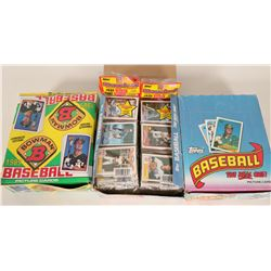 Topps & Bowman 1989 Baseball Card Boxes  (110569)