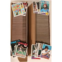 Topps 1985, 1986 Baseball Card Sets  (110556)