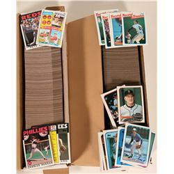Topps 1986 and 1989 Baseball Card sets  (110554)