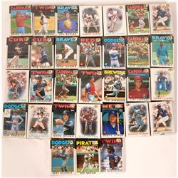 Topps Baseball Cards from the 1986 Season  (109891)