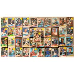Topps Baseball Cards from the 1985 season  (109893)