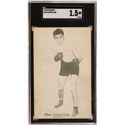 1930's Exhibits Max Schmelling Postcard  (119250)