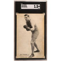 Jess Willard Picture Postcard  (119246)
