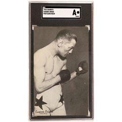 French Boxer Eugene Criqui Postcard  (119247)
