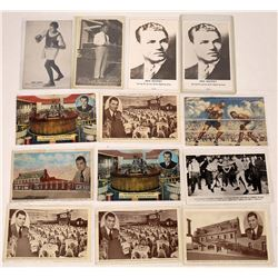Boxing Themed Postcards  (125692)