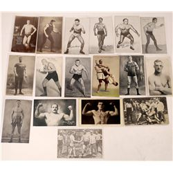 Boxing and Wrestling Postcard Collection  (122537)