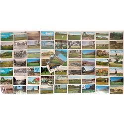 Golf Themed Color Postcards  (125695)