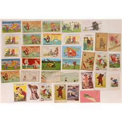 Humorous Golfing Themed Postcards-35  (125690)