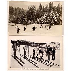 Two California Ski RPC's  (125697)