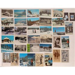 Color Postcards of Skiing  (125698)