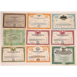 Bowling Stock Certificate Group  (126326)
