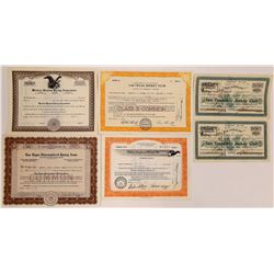 Western Horse Racing Stock Certificates  (126321)