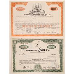 Miscellaneous Sports Stock Certificate & Bond  (126329)