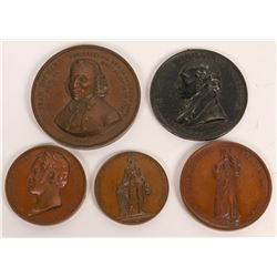 Swiss Medals Commemorating Famous Citizens  (121081)