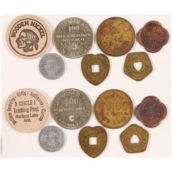 Seven Arizona Tokens  (89016)