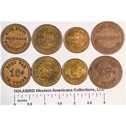 Mississippi Prison Tokens  (125753)