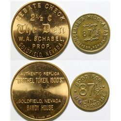 Replica Nevada Tokens (2)  (101991)