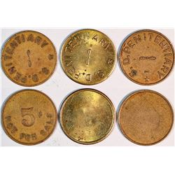 South Dakota Prison Tokens  (125758)