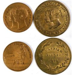Victoria & Albert Tokens  (121781)