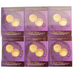 Heritage Gold Rush Auction Catalogs (6)  (89167)
