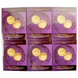 Heritage Gold Rush Auction Catalogs (6)  (89168)