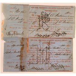 New-York, Providence and Boston Railroad Co. Stocks  (115959)