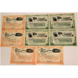 The City Railway Co. of Dayton Ohio Certificates  (117515)