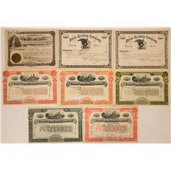Pennsylvania Railroad Stocks  (114658)