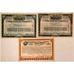 Pennsylvania Railroad Stocks  (114880)