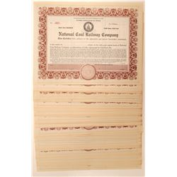 National Coal Railroad Certificate Collection  (105796)
